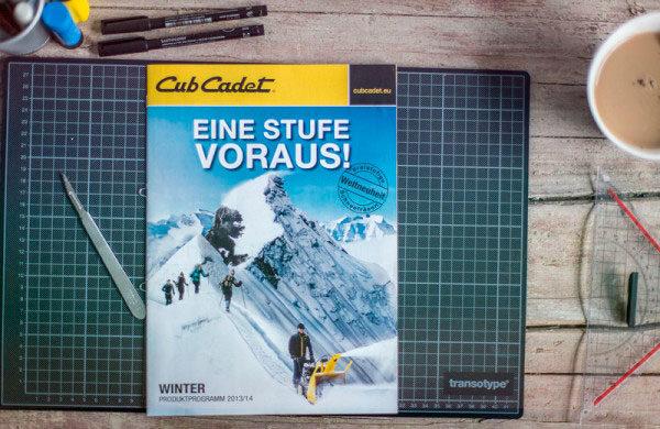 Katalogdesign Cub Cadet