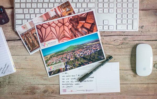 Postkarten Serie Foto+Konzept